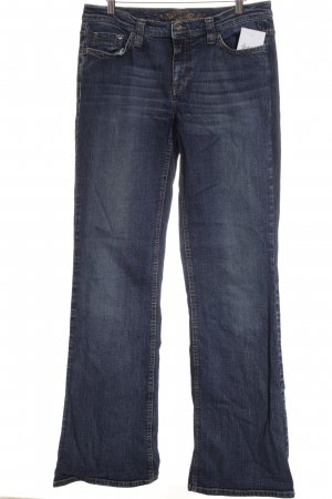 Esprit Boot Cut Jeans stahlblau Casual-Look