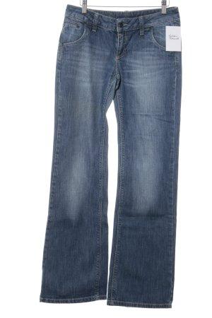 Esprit Boot Cut spijkerbroek staalblauw casual uitstraling