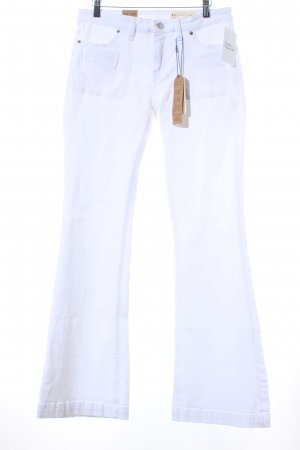 Esprit Boot Cut Jeans weiß Casual-Look