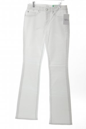Esprit Boot Cut Jeans weiß Marine-Look