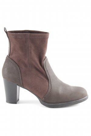 Esprit Booties dunkelbraun Casual-Look
