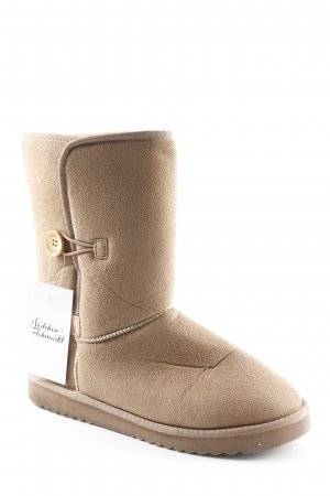 Esprit Booties hellbraun Casual-Look