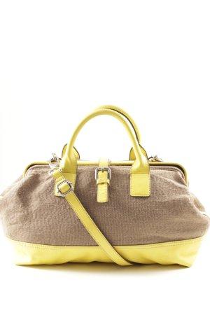 Esprit Bolso de bolos marrón grisáceo-amarillo look casual