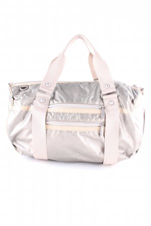 Esprit Bowling Bag silver-colored-oatmeal metallic look