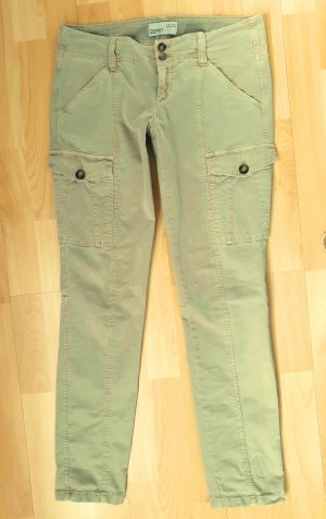ESPRIT BOY SLIM FIT Cargo Hose Senffarben Short 36
