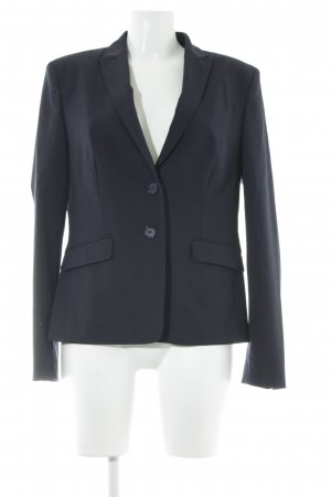 Esprit Boyfriend-Blazer dunkelblau Business-Look