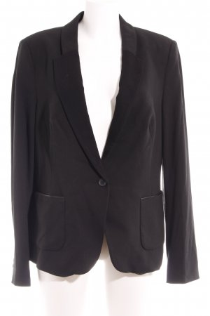 Esprit Boyfriend-Blazer schwarz Business-Look