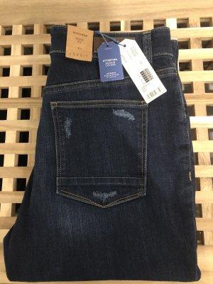 Esprit Boyfriend Jeans dark blue
