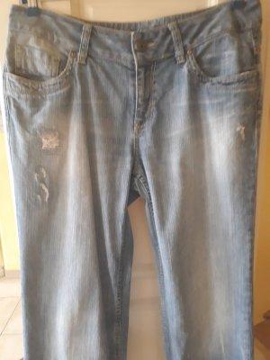 Esprit Boyfriend Jeans blue cotton