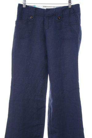 Esprit Boyfriend Trousers dark blue casual look