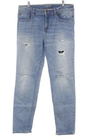 Esprit Boyfriendjeans blau-hellblau Casual-Look