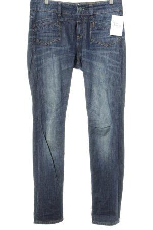 Esprit Boyfriendjeans dunkelblau Jeans-Optik