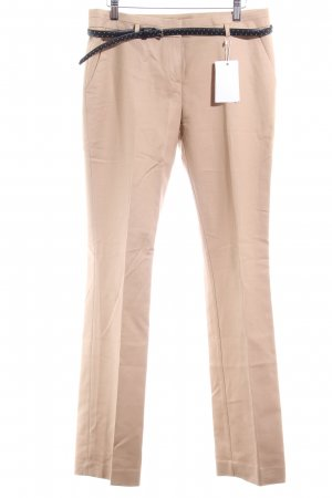 Esprit Bundfaltenhose beige Business-Look