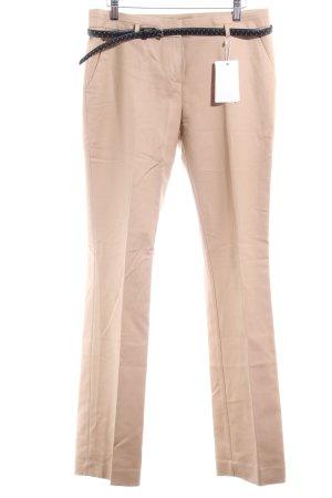 Esprit Pantalon à pinces beige style d'affaires
