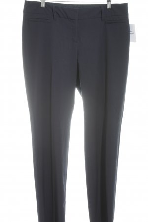 Esprit Bundfaltenhose dunkelblau Business-Look