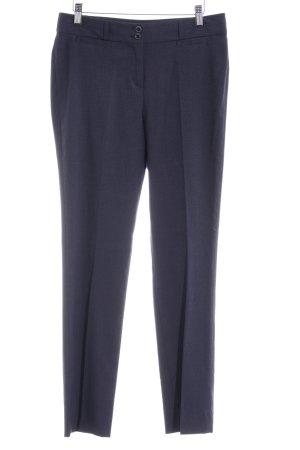 Esprit Bundfaltenhose dunkelblau Business-Look