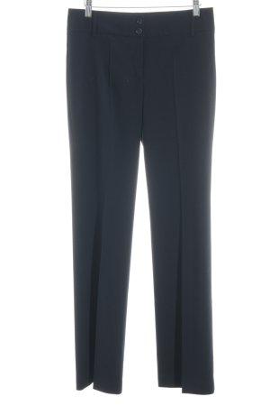 Esprit Pantalon à pinces bleu foncé style d'affaires