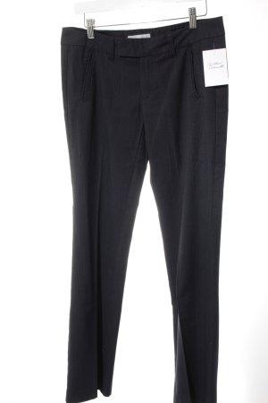 Esprit Pantalon à pinces bleu foncé motif à carreaux style d'affaires