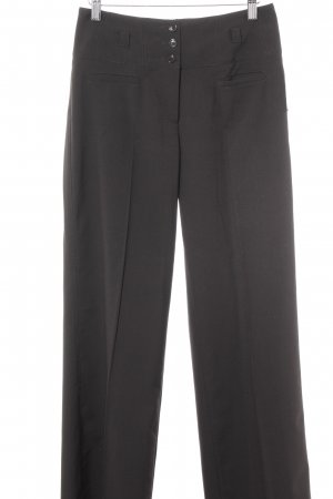 Esprit Bundfaltenhose dunkelbraun Business-Look