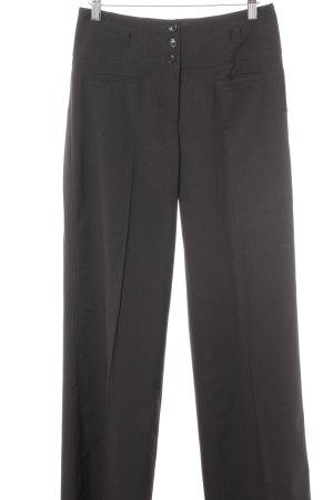 Esprit Pantalón de pinza marrón oscuro estilo «business»