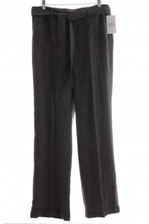 Esprit Pleated Trousers dark grey flecked business style