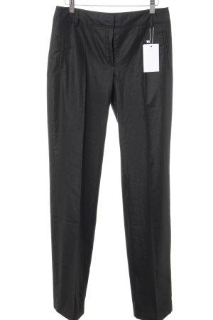 Esprit Pantalon à pinces noir style d'affaires
