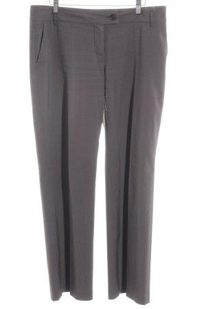 Esprit Pantalon à pinces brun noir rayure fine style d'affaires