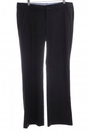 Esprit Pantalon à pinces motif rayé style d'affaires