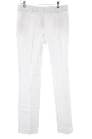 Esprit Pantalón de pinza blanco puro estilo «business»