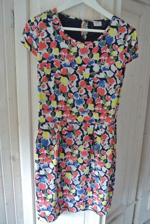 ESPRIT Buntes Tulpen Blumen Kleid Gr. 38
