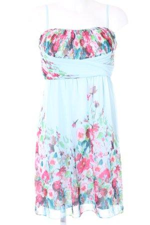 Esprit Vestido bustier estampado floral estilo romántico