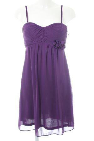 Esprit Vestido bustier violeta oscuro elegante