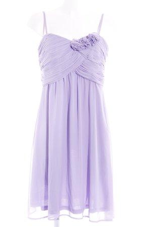 Esprit Vestido bustier púrpura elegante