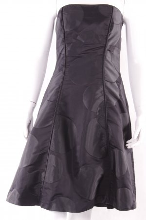 Esprit Vestido bustier negro Poliéster