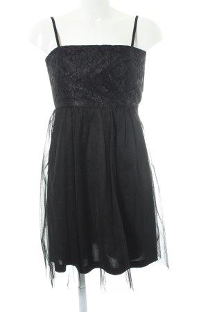 Esprit Vestido bustier negro elegante