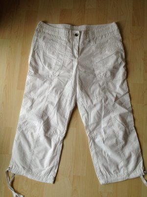 Esprit by Edc 7/8 Hose Shorts Gr 38/40 Weiß