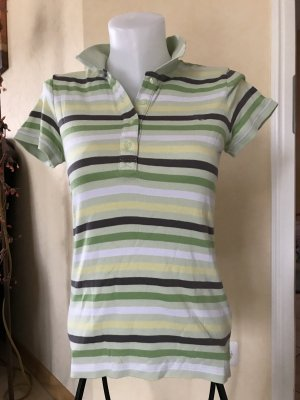 Esprit by EDC Polo T-Shirt gestreift Gr L