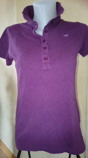 Esprit by EDC Polo T-Shirt Weinrot Gr M
