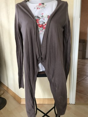 edc by Esprit Knitted Cardigan grey brown