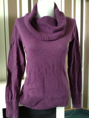 Esprit by Edc Strickpullover Aubergine - Lila Gr M