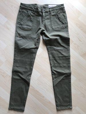 edc by Esprit Stretch broek groen-grijs