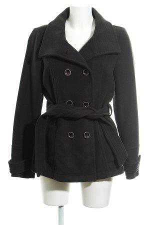 Esprit Pea Jacket black business style
