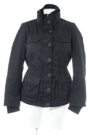 Esprit Pea Jacket black fluffy
