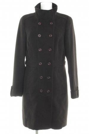 Esprit Heavy Pea Coat black elegant