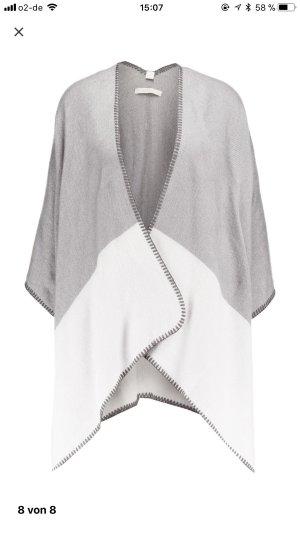 Esprit Capa gris-blanco