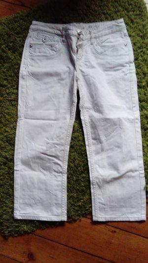 Esprit Capri Jeans weiß Größe 38