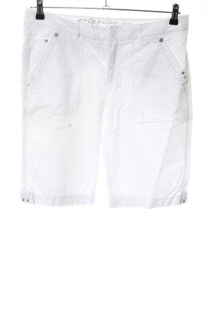 Esprit Capribroek wit casual uitstraling