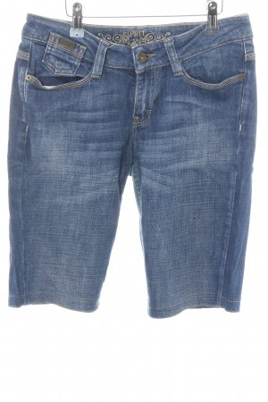 Esprit Pantalone Capri blu stile jeans