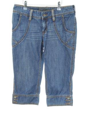 Esprit Pantalone Capri blu stile casual