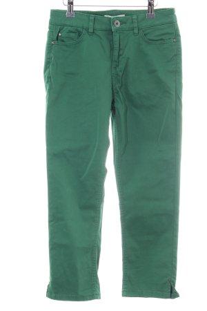 Esprit Pantalone Capri verde stile casual